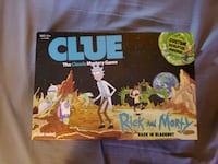 Rick and morty clue. Canton, 44703