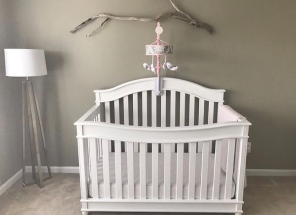 4 way convertible crib with brand new transition kit