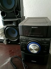 black Sony stereo component set Washington, 20019