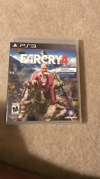 Farcry4 PS3 game case Herndon, 20171