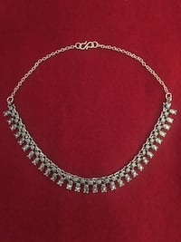 silver-colored chain necklace Abbotsford, V2S 3N5