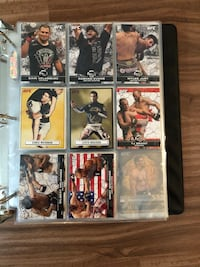 Rare Collection - UFC Cards
