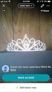 Tiara never used purchase in Vegas new  Calgary, T2W