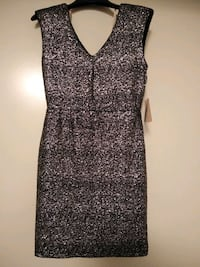 """""""New"""" NEVER WORN -Dress SPARKLE Silver & Black Knoxville, 37924"""