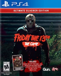 FRIDAY THE 13TH THE GAME FOR PS4