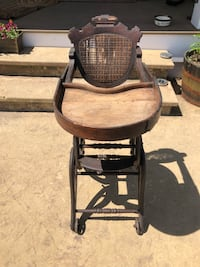 Antique High Chair/Rocker