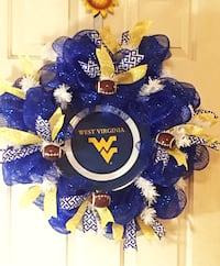 West Virginia Wreath Inwood