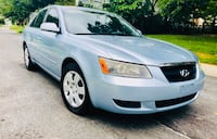 2007 Sky Blue Hyundai Sonata Drives Excellent  Silver Spring