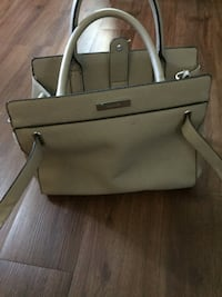 gray and black leather tote bag 1494 mi
