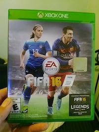Xbox One Fifa 16 game case Chicago, 60618