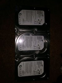 Interal hard drives pic up west and 3 memory cards Edmonton, T6J 4R7