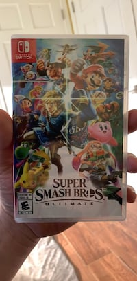 BRAND NEW SUPER SMASH BROS ULTIMATE for Nintendo Switch Washington, 20016
