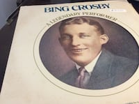 JUST REDUCED Vinyl Record Bing Crosby A Legendary Performer in good condition Rockville
