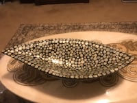 "Brand new 24"" long mother of pearls bowl centerpiece check out my other listings on this page message me if you interested pick up in Gaithersburg md 20877 Gaithersburg, 20877"