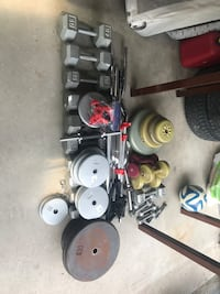 Free Weights and Heavy Bag New Tecumseth