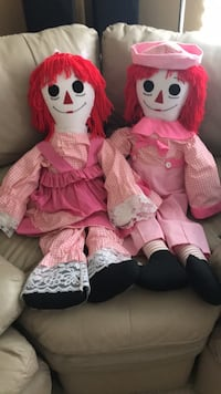 Handmade Raggedy Ann and Andy dolls Las Vegas, 89148