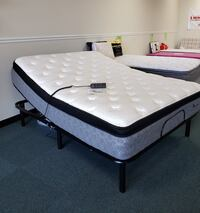 BRAND NEW LUXURY MATTRESS AND ADJUSTABLE BASE SALE-$40 DOWN!!!!