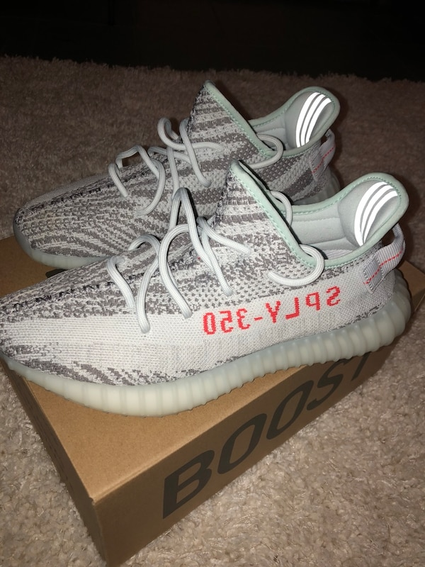 6a740765 Brukt Yeezy 350 Boost v2 Blue Tints. Size 10. 9.5/10 condition worn ...
