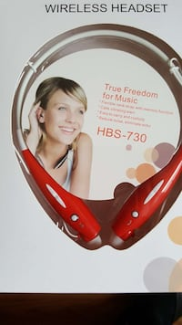red Wireless Headset HBS-730 in box Nueva York, 11368