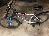18 speed men's mountain bike,great shape 3484 km
