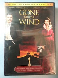 Gone With The Wind 2 disc anniversary edition dvd new Glen Burnie