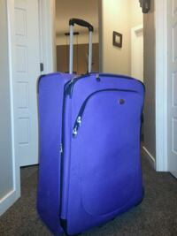 XXL purple and black luggage bag Red Deer, T4N 1C4