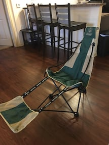 Coleman Footrest camping chair.
