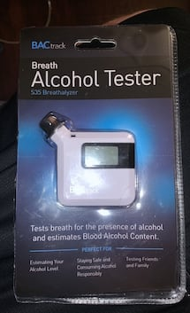 BAC Track Breath Alcohol Tester
