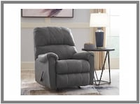 Narzole Dark Gray Rocker Recliner Windsor Mill