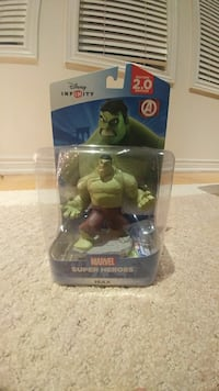 Disney Infinity Marvel Superheroes The Incredible Hulk action figure pack
