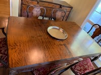 Beautiful table and sideboard with 6 chairs. Oakland, 94611