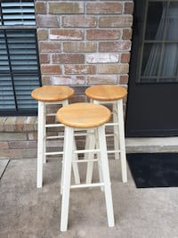 two brown wooden bar stools Spring, 77379