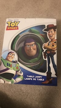 Toy Story table lamp box Victoria, V8N