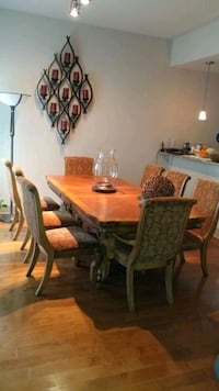 Solid Wood Dining Room Table Baltimore