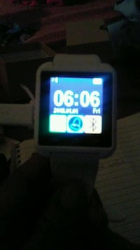 white smartwatch Aurora, 80017