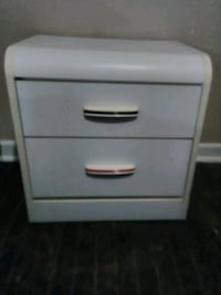 White side table with drawers Wichita, 67211