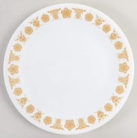 6 Corelle Butterfly Gold 8 1/4 plate Toronto
