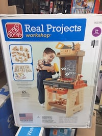 Step 2 real projects workshop tool bench set brand new never assembled $99 retail + tax Hamilton, L8M 2B5