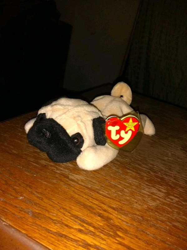 Used TY Beanie Baby Pugsly 1996. Make offer for sale in Poca - letgo d21fa4940da