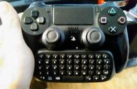 PS4 bluetooth controller keyboard