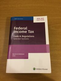 Federal Income Tax: Code and Regulations--Selected Sections ( [TL_HIDDEN]  [TL_HIDDEN]  Seattle