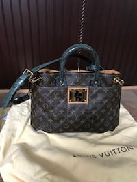 Louis vuitton monogram etoile tote bag python handle & strap McLean