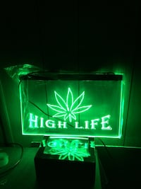 High Life 3D LED Neon Light Sign Youngstown, 44505