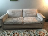gray and white fabric 2-seat sofa Apple Valley, 55124
