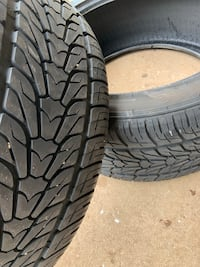 Two tires size 305/40 R22