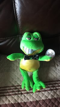 green frog plush toy 埃德蒙顿, T6W 0C8