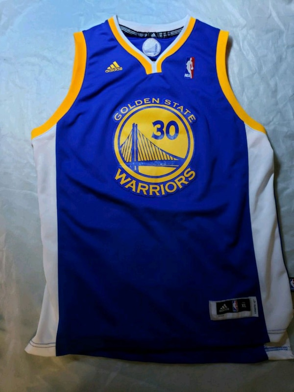 Steph Curry warriors Adidas Jersey youth XL