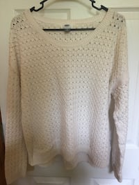 women's white knitted sweater Erie, 16509