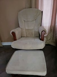 Glider and Ottoman $75 or best offer Toronto, M9W 6H6
