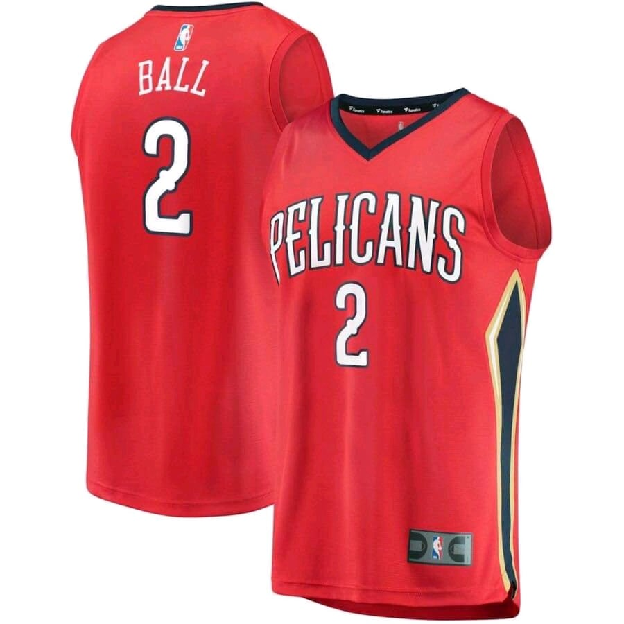 Lonzo Ball Pelicans Jerseys ALL SIZES